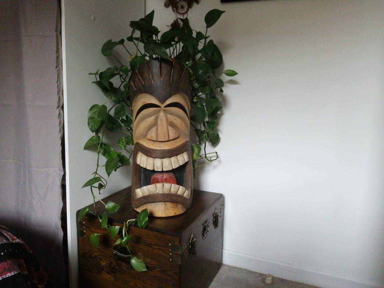 Un Tiki Polynésien personnalisé sur commande